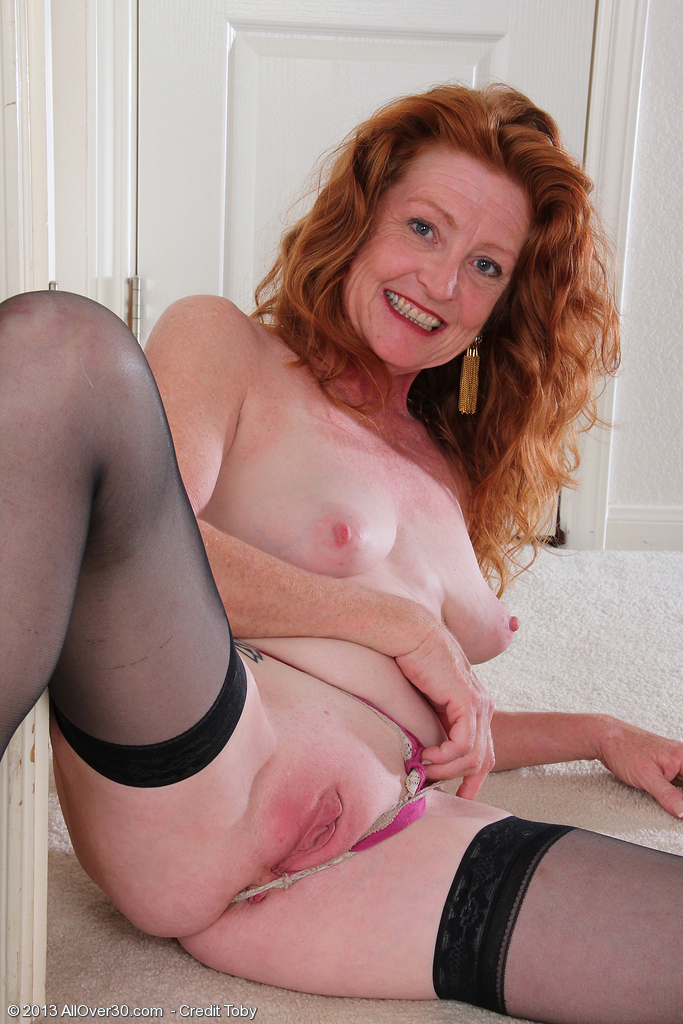 Naked redhead grannies