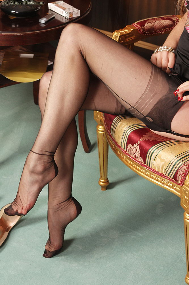 For old pantyhose women