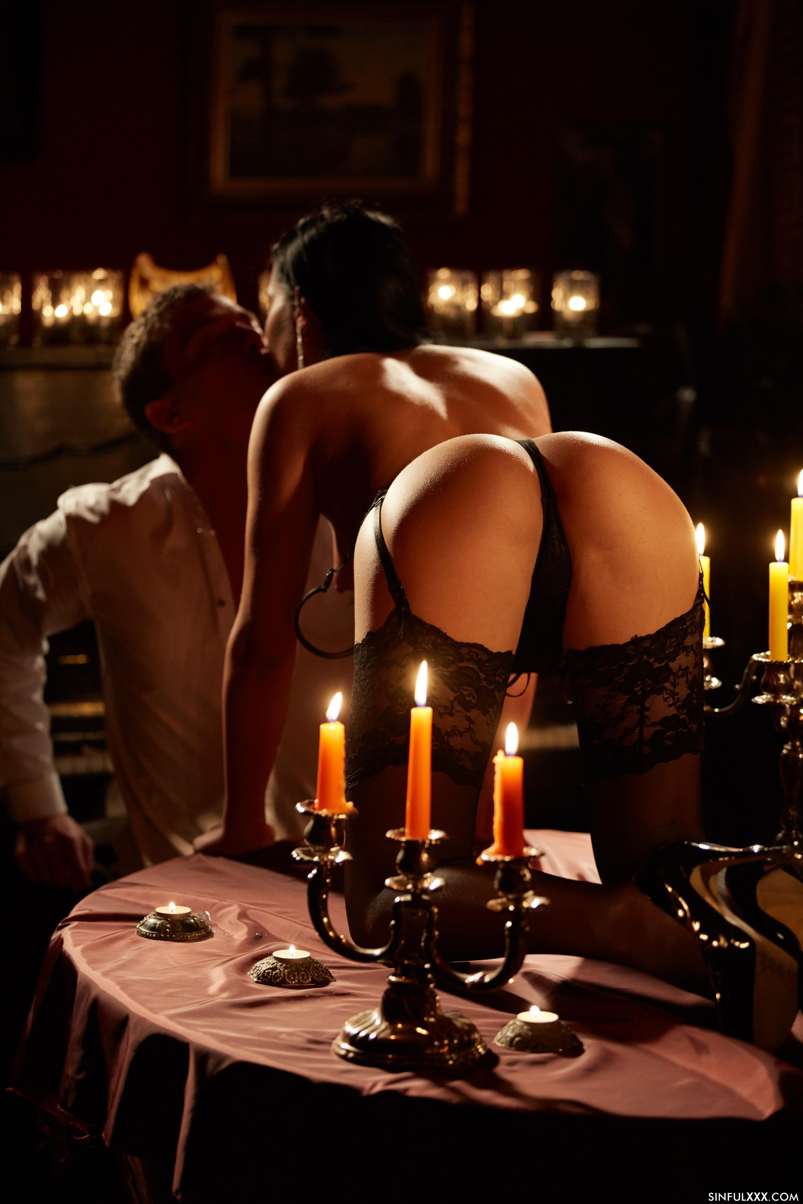 При свічах секс